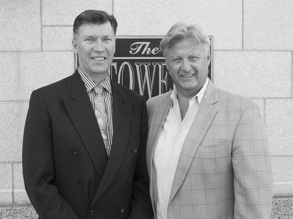 BW - Richard and Ken